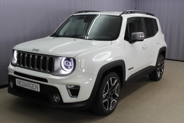 Jeep Renegade - Limited 1,3 DSG UVP 32.640.- LED-Paket, Navigationssystem sowie digitalem Radio (DAB), Apple CarPlay, Leichtmetallräder 19
