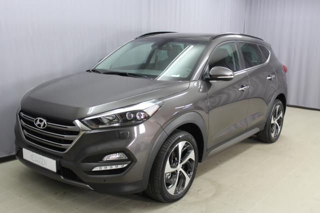 Hyundai Tucson - Platin 2.0 CRDi 4WD Sie sparen 14.700€ 136kW /185PS Navigationssystem mit 8