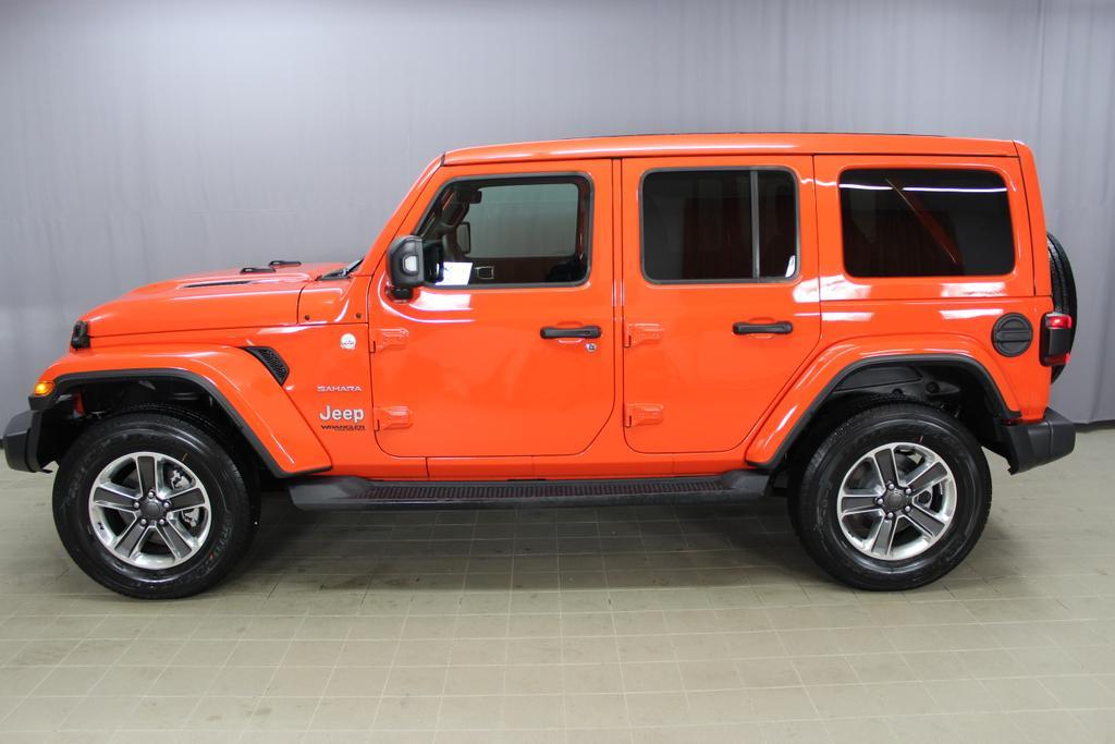 2.0 l T-GD DSG Automatik Jeep Wrangler JL Unlimited Sahara 4-Türer,