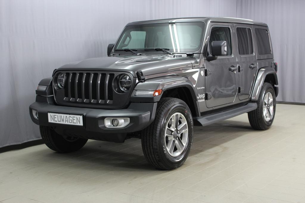 2.0 l T-GD DSG Automatik Jeep Wrangler JL Unlimited Sahara 4-Türer