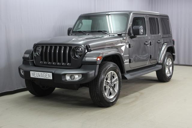Jeep Wrangler - Unlimited Sahara JL 2.0 l T-GD DSG Automatik, UVP 63.630.- Navigation, Keyless Enter-N-Go, Differentiealsperre (mechanisch) Hinterachse, Getönte hintere Scheiben, Sky One-Touch® Power Soft Top uvm. Lagerfahrzeug