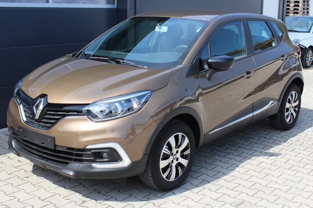 Renault Captur - Limited 0,9 TCe 90 PS UVP 20965 Navigationssystem, 16 Zoll Leichtmetallfelgen, KEYCARD HANDSFREE, C-Shape LED Tagfahrlicht, Nebelscheinwerfer, Isofix am Beifahrersitz uvm