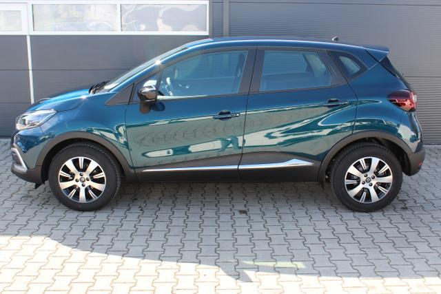 0,9 TCe 90 PS 3 Zylinder, Renault Captur Blau Metallic