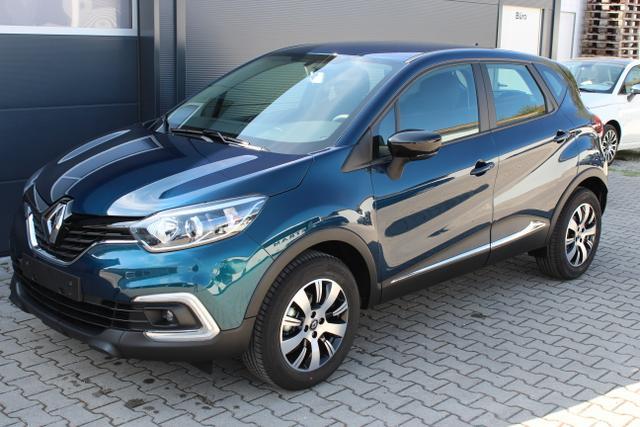 Renault Captur - Limited 0,9 TCe 90 PS Sie sparen 6.575 Euro, Navigationssystem, 16 Zoll Leichtmetallfelgen, KEYCARD HANDSFREE, C-Shape LED Tagfahrlicht, Nebelscheinwerfer, Isofix am Beifahrersitz uvm.