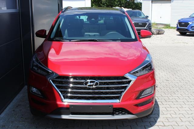 Tucson - Premium 1,6 T-GDi 4WD DCT, UVP 43.400.- euro, Fernlichtassistent, Digitales Radio, Navigationssystem, Panorama Glas-/Hubschiebedach Voll-Leder uvm.