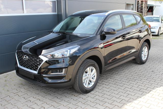 Lagerfahrzeug Hyundai Tucson - Pure 1,6 GDI 2WD UVP 24.920 Euro, Audiosystem mit 5 Zoll Bildschirn, Euro 6D-Temp (WLTP), Sitzheizung vorne, Beheizbares Lenkrad, uvm.