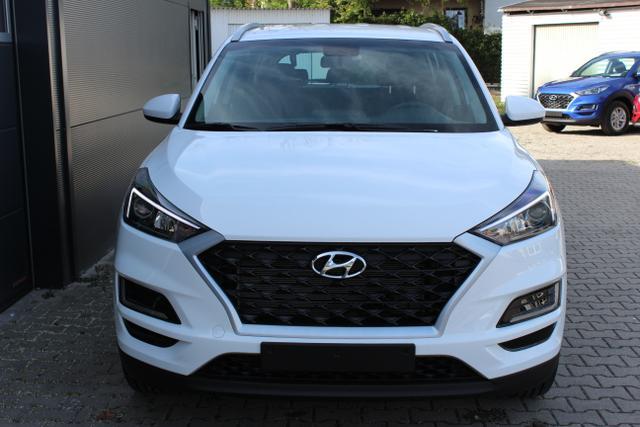 Hyundai Tucson - Trend 1.6 T-GDI 4WD 18'' Aluminiumfelgen, Navigationssystem inkl. Rückfahrkamera / DAB-Radio, Apple CarPlay & Android Auto, Klimaautomatik, Sitzheizuung vorne u. hinten, Einparksensoren hinten uvm.