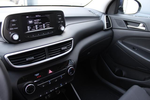 Hyundai Tucson 1,6 GDi 2WD MT Winterpaket 2: Sitzheizung,Beheizbares Lenkrad  BG2WD Stellar Blue