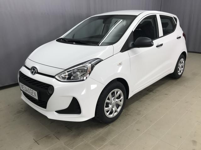 Hyundai i10 - Select 1.0l 67 PS 5-Gang, Radio RDS/MP3 - USB/AUX, Tagfahrlicht, TPMS; Warnsymbol
