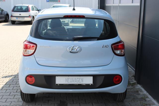 Hyundai i10 1,0 MT Radio, Klimaanlage Clean Slate, Blau Metallic