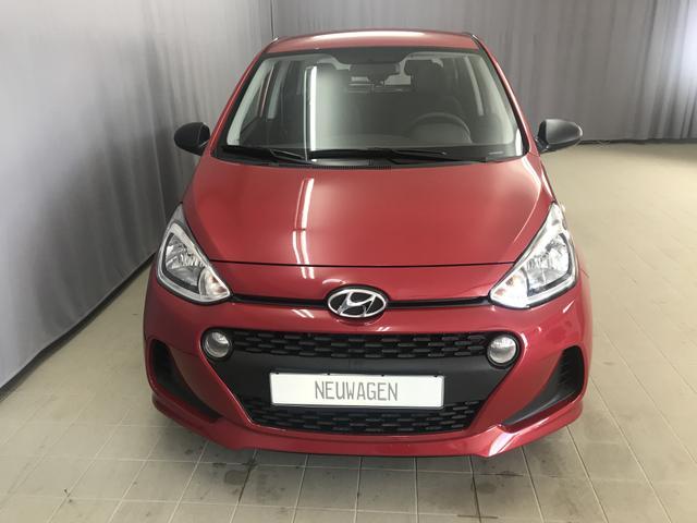 Hyundai i10 - Select 1.0l 67 PS 5-Gang, UVP 13.390 Euro, Radio RDS/MP3 - USB/AUX, Tagfahrlicht, TPMS; Warnsymbol
