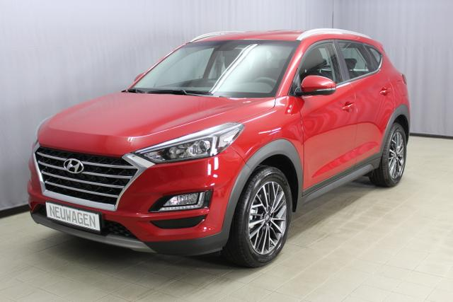 Hyundai Tucson - Trend 1.6 T-GDI 2WD 18'' Aluminiumfelgen, Navigationssystem inkl. Rückfahrkamera / DAB-Radio, Apple CarPlay & Android Auto, Klimaautomatik, Sitzheizuung vorne u. hinten, Einparksensoren hinten uvm.