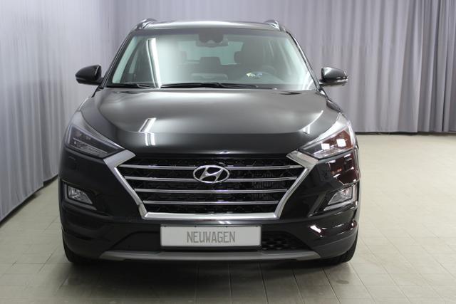 Hyundai Tucson - Premium 2.0 CRDi 4WD AT Hybrid (Diesel / Elektro) UVP 48.400.- euro, Abstandsregeltempomat, Fernlichtassistent, Digitales Radio, Navigationssystem, Panorama Glas-/Hubschiebedach Voll-Leder uvm.