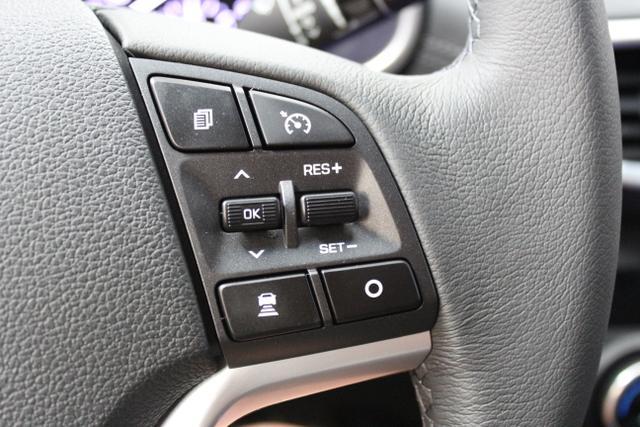 Hyundai Tucson Level 6 1,6 T-GDi 4WD DCT 824q  Stellar Blue / Leder Schwarz