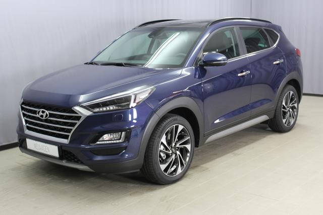 Hyundai Tucson - Premium Sie sparen 10.900,- 1,6 T-GDi 4WD DCT, Abstandsregeltempomat, Fernlichtassistent, Digitales Radio, Navigationssystem, Panorama Glas-/Hubschiebedach Voll-Leder uvm.