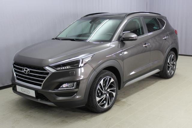 Hyundai Tucson - Premium Sie sparen 12.400,- 1,6 T-GDi 4WD DCT, Abstandsregeltempomat, Fernlichtassistent, Digitales Radio, Navigationssystem, Panorama Glas-/Hubschiebedach Voll-Leder uvm.