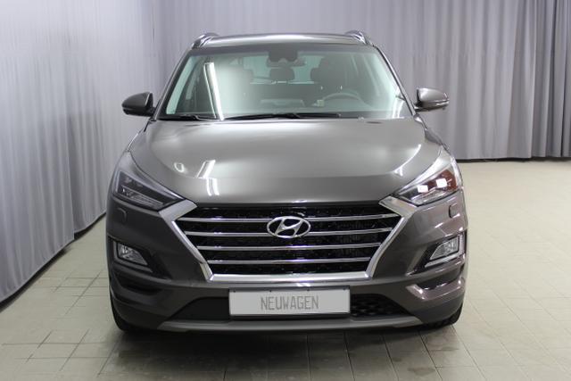 Hyundai Tucson - Premium 2.0 CRDi 4WD 48V AT Hybrid (Diesel / Elektro) UVP 48.400.- euro, Abstandsregeltempomat, Fernlichtassistent, Digitales Radio, Navigationssystem, Panorama Glas-/Hubschiebedach Voll-Leder uvm.