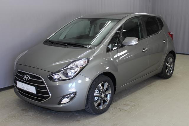 Hyundai ix20 - Space Sie sparen 5.590 Euro, 1,6 CVVT 125PS, Lichtsensor, 16 Zoll Leichtmetallfelgen, Einparkhilfe hinten, beheizbares Lederlenkrad, Klimaautomatik, LED-Heckleuchten uvm.