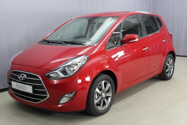 Hyundai ix20 - Space 1,6 CVVT 125PS, UVP 22.880.- Automatik, Lichtsensor, 16 Zoll Leichtmetallfelgen, Einparkhilfe hinten, beheizbares Lederlenkrad, Klimaautomatik, LED-Heckleuchten uvm.