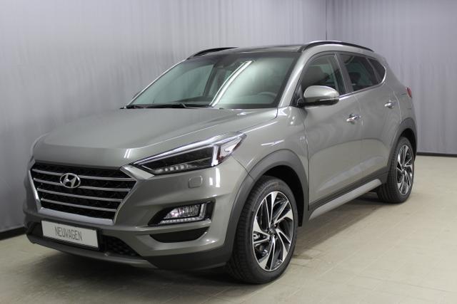 Hyundai Tucson - Premium 2,0 CRDi 4WD / 48V AT Abstandsregeltempomat, Fernlichtassistent, Navigationssystem, Panorama Glas-/Hubschiebedach Voll-Leder uvm.