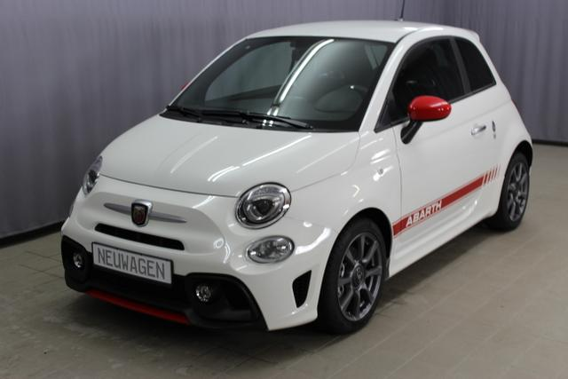 Abarth 595 - 1,4 T-Jet 145PS, DAB, Navigation 7'', Nebelscheinwerfer, Kit Estetico ROT, Analoges Manometer, Klimaanlage, 16