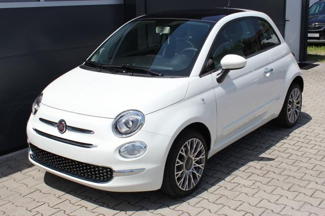 Fiat 500 - Lounge Sie sparen 7.290 Euro 1,2 8V Uconnect NAVIGATION und DAB+, Apple CarPlay/Android, PDC hinten, Kühlergrill Verchromt, Klimaautomatik, Glasdach feststehend, 16
