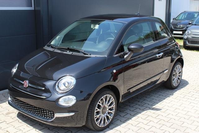 Fiat 500      Lounge 1,2 8V Uconnect 7'', Apple CarPlay/Android, PDC hinten, Kühlergrill Verchromt, Klimaautomatik, Glasdach feststehend, 16