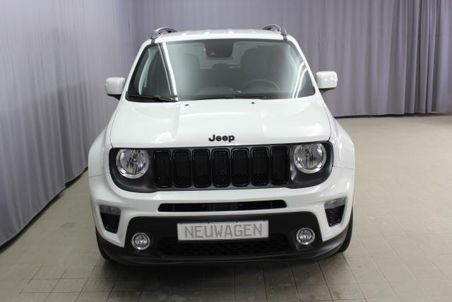 Jeep Renegade 1,0T GSE 120PS MY19 NIGHT EAGLE II Alpina White	Stoff schwarz 78803
