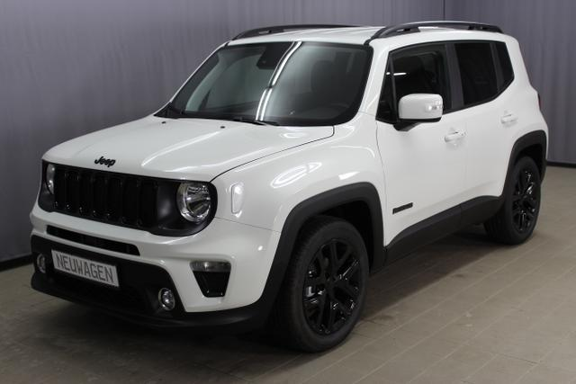 Jeep Renegade - Night Eagle 1,0T GSE Navigation Uconnect ® Smartouch, Klimaautomatik, Sitzheizung , Keyless Enter-N-Go, ParkSense, Spurhalteassistent LaneSense, Verkehrszeichenerkennung uvm.