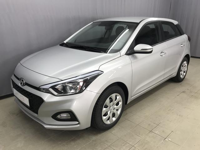 Hyundai i20 - Select Sie sparen 5.600 Euro 1,25 84 PS S&S, Audiosystem mit 5 Zoll Bildschirn, Klimaanlage, Tagfahrlicht, Bluetooh, 6D-Temp (WLTP), uvm.