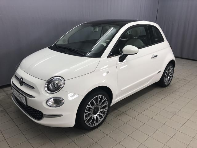 Fiat 500 - Lounge 1,2 8V UVP 18.390 Euro Uconnect 7'', DAB+, Apple CarPlay/Android, PDC hinten, Kühlergrill Verchromt, Klimaautomatik, Glasdach feststehend, 16