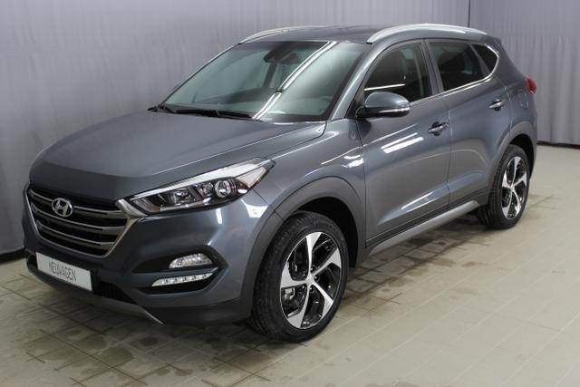 Hyundai Tucson - Style 1,6 T GDI 4WD 177PS, Navigation, Apple CarPlay, LKAS - Spurhalteassistent, Lordosenstütze, Supervision Armature, LED-Scheinwerfer, Privacy Glas uvm.