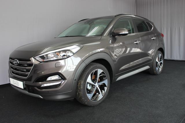 Hyundai Tucson - Platin 1,6 T-GDi 4WD MT, UVP 41.990 Euro, Apple CarPlay, Navigationssystem mit 8 Zoll Farbdisplay, Autonomer Notbremsassistent, Toter-Winkel-Assistent, Querverkehrwarnung, Spurhalteassistent uvm.