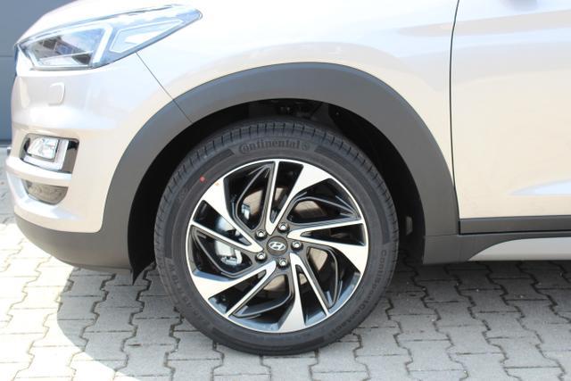 Hyundai Tucson Level 6 1,6 T-GDi 4WD MT 823q White Sand / Leder Schwarz 729923