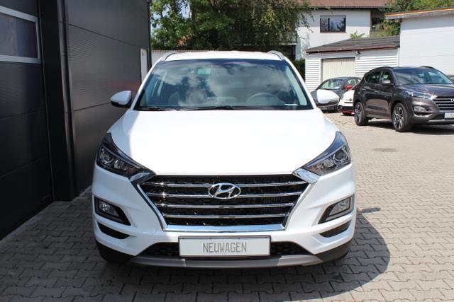 Hyundai Tucson - Trend 1,6 T-GDi 2WD DCT UVP 34.990.-, Navigationssystem mit 8 Zoll Farbdisplay, 18 Leichtmetallfelgen, Privacy Glas, Sitzheizung hinten uvm.