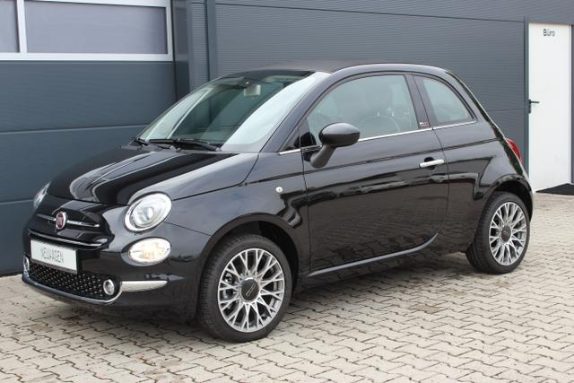 Fiat 500C - Lounge 1,2 8V Dualogic UVP 22.625.- Navigation Uconnect Radio mit 7