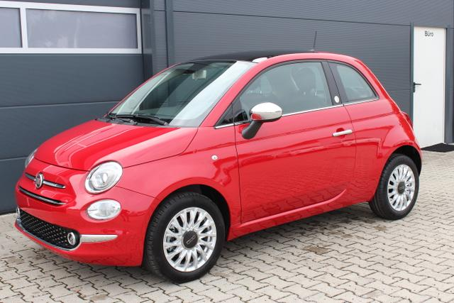 Fiat 500 - Lounge Mirror 1,2 8V UVP 18255€, CITY PAKET, Uconnect Radio mit 7