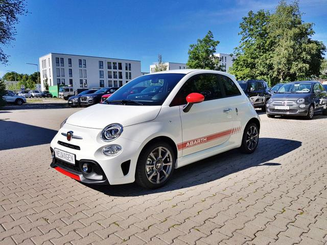 Abarth 595 - Sie sparen 5.190,00 1,4 T-Jet 145PS, Privacy Glass, Nebelscheinwerfer, Kit Estetico ROT, Analoges Manometer, Klimaanlage, 16