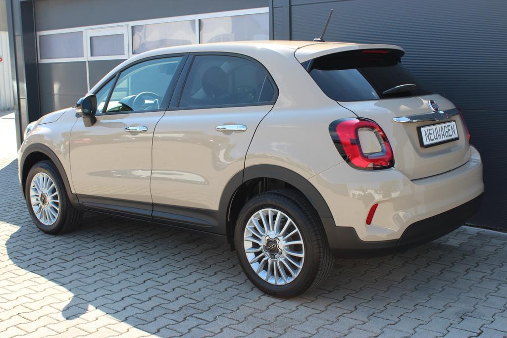 Fiat 500X 1.6 E-Torq 110PS URBAN Look, 231 Cappuccino Beige Uni 17 Zoll