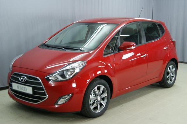 Hyundai ix20 - Space 1,6 CVVT 125PS, UVP 24.380.- Automatik, Navigation, Lichtsensor, 16 Zoll Leichtmetallfelgen, Einparkhilfe hinten, beheizbares Lederlenkrad, Klimaautomatik, LED-Heckleuchten uvm.