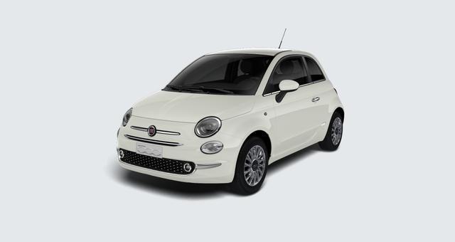 Vorlauffahrzeug Fiat 500 - Lounge 1,2 8V Serie 7 Modell 2020, Navigation DAB, TFT Display, Klimaautomatik, PDC hiten, Nebelscheinwerfen uvm.