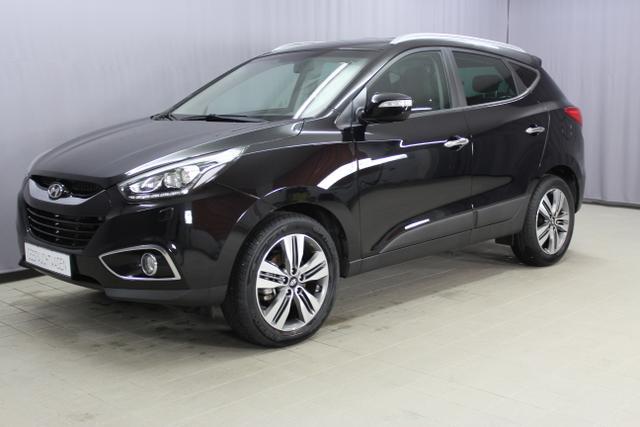 Hyundai ix35 - Style GO Plus 2,0 CRDi 4WD Navigationssystem, Bi-Xenon, Licht- und Regensensor, Rückfahrkamera, 2 Zonen Klimaautomatik, Teilleder uvm.