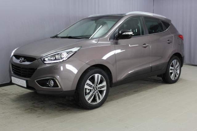 Hyundai ix35 - Premium GO Plus 2, 0 CRDI 4WD MT 100 kW, Alufelgen 18 Zoll, Navigationssystem mit Rückfahrkamera, Bi-Xenon, Panoramadach, beheiztes Lenkrad, Teil Lederausstattung