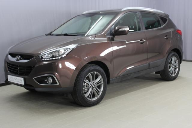 Hyundai ix35 - Premium 2,0 CRDi 4WD (136PS) Schalter, Navigationssystem, Bi-Xenon Scheinwerfer, Sicht-Paket: Lichtsensor, Regensensor