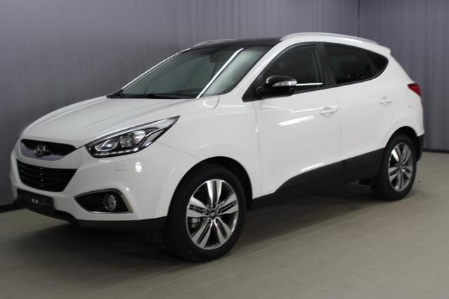 Hyundai ix35 - Premium GO Plus 2,0 CRDi 4WD AT 2 Zonen Klimaautomatik, Teilleder, uvm.