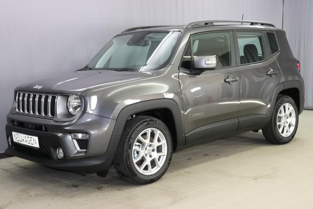 Jeep Renegade - Limited 1,3 DSG Sie sparen 10.570 Euro Navigationssystem sowie digitalem Radio (DAB), Apple CarPlay, Alarmanlage, Leichtmetallräder 17