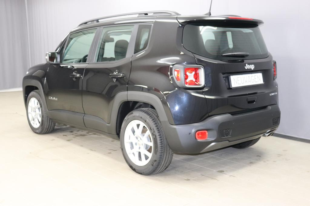 Jeep Renegade 1,3 GSE T4 150 PS Limited 2 WD DCT Automatikgetriebe 6 Gang, 876 Carbon Black	074 Stoff Premium Schwarz
