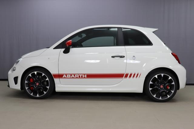 Abarth 595 MY20-Competizione 1.4 T-Jet 132 KW (180PS) 268 - Gara Weiß (Uni-Sonderlackierung) 430 (4FA) - Sabelt GT Leder/Alcantara Schwarz/Grau