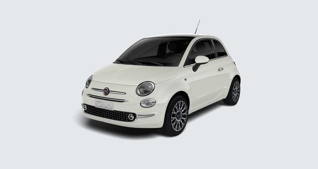 Lagerfahrzeug Fiat 500 - Star 1,2 8V UVP 19.705 Euro, Panorama-Dach, Navigationssystem, DAB, Klimaautomatik, PDC hinten, Apple Carplay / Android Auto, Licht und Regensensor, Lederschaltknauf, 16 Zoll Alufelgen uvm.