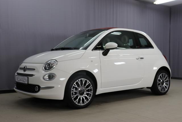 Fiat 500C - Lounge 1,2 8V Sie sparen 8295,00 Euro = 38 % Rabatt Navigationssystem Uconnect mit 7